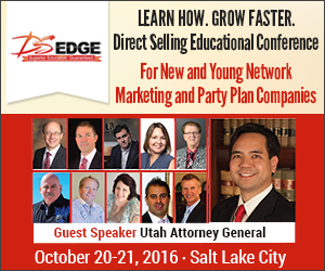 Direct Selling Edge Conference Oct 20 -21, 2016